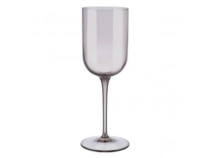 set 4 skleniček na bílé víno hnědé FUUM BLOMUS