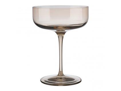 set 4 skleniček na šampaňské pískové ploché FUUM BLOMUS