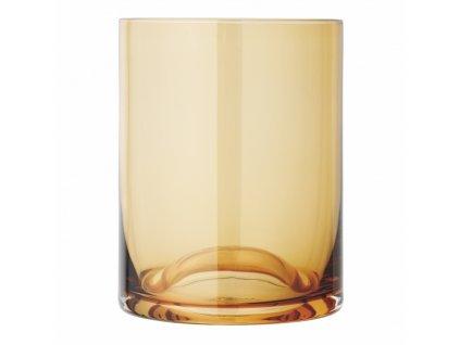 set 2 skleniček na pití zlatavé WAVE