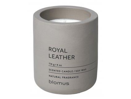 Vonná svíčka ze sojového vosku Royal Leather malá FRAGA
