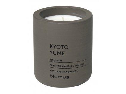 Vonná svíčka ze sojového vosku Kyoto Yume malá FRAGA BLOMUS