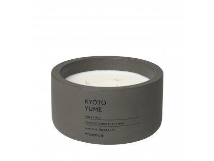 Vonná svíčka ze sojového vosku Kyoto Yume velká FRAGA BLOMUS