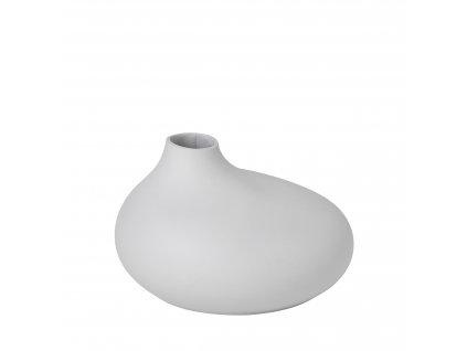 váza porcelánová šedobílá NONA BLOMUS