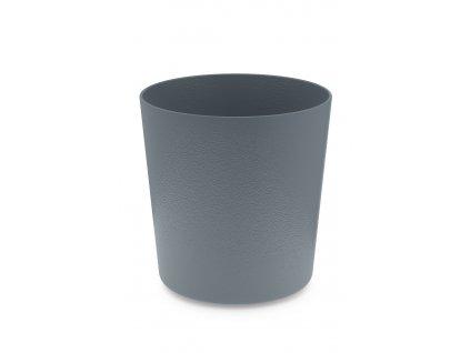 Květináč na podstavec tmavě šedý ZACK