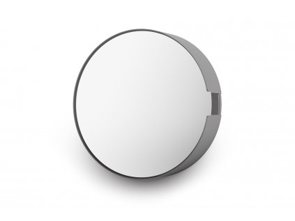 Skříňka na klíče se zrcadlem menší nerezová černá ZACK