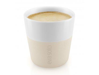 Termošálky na espresso 80 ml 2 kusy béžové