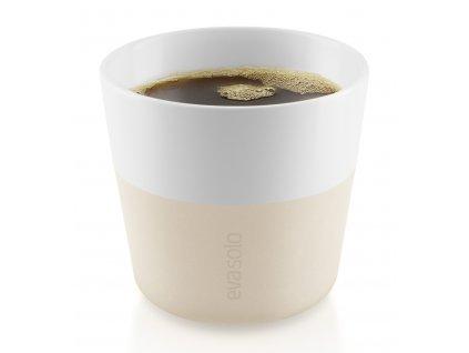 Termohrnky na kávu Lungo 230 ml 2 kusy béžové