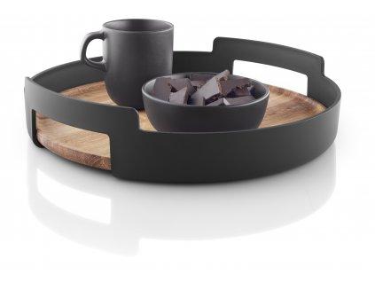 Servírovací podnos Nordic kitchen s dřevěným dnem