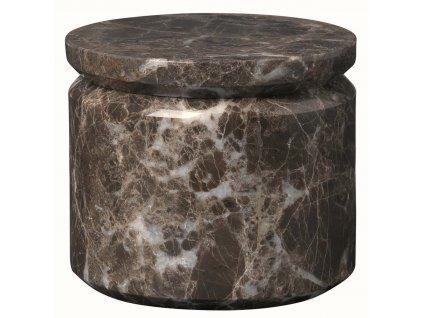 Mramorový úložný box hnědý BLOMUS