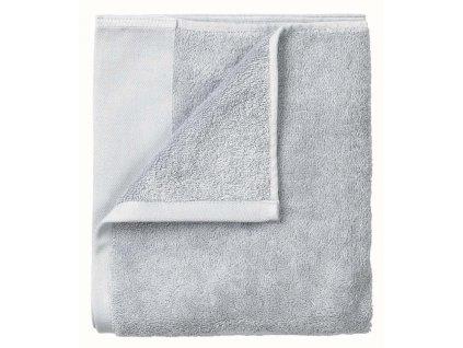 Set 2 ručníků 30 x 50 cm světle šedá BLOMUS