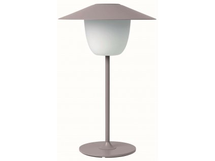 Přenosná LED lampička nízká starorůžová BLOMUS