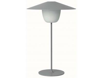 Přenosná LED lampička střední šedá BLOMUS