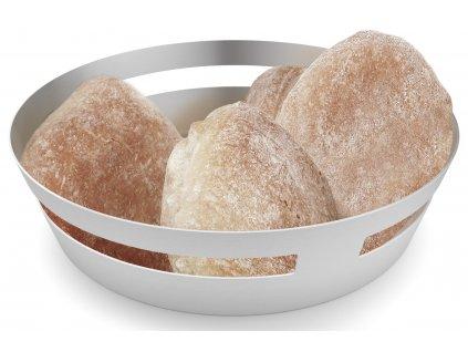 Mísa na chléb nebo ovoce, broušený nerez, Vareo ZACK