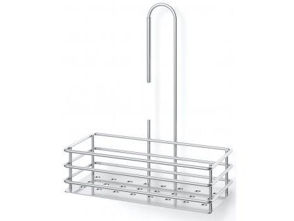 Sprchový košík, leštěný nerez, malý, IPARO ZACK