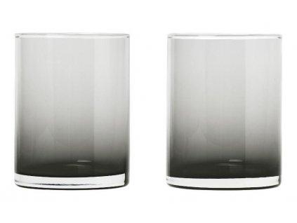 Set 2 ks sklenice,220 ml, kouřové BLOMUS