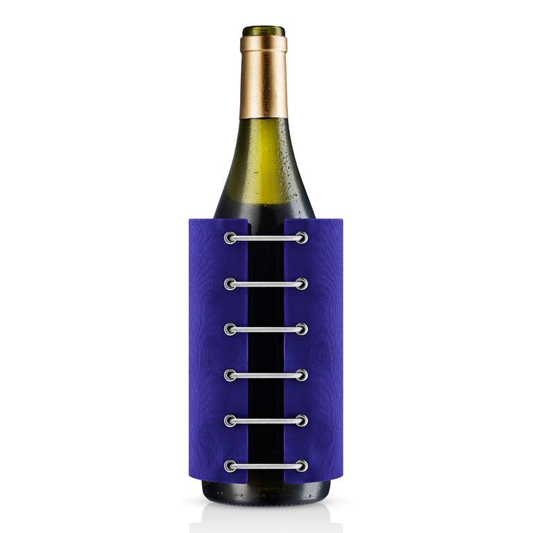 Chladicí potah na lahev StayCool modrý, Eva Solo
