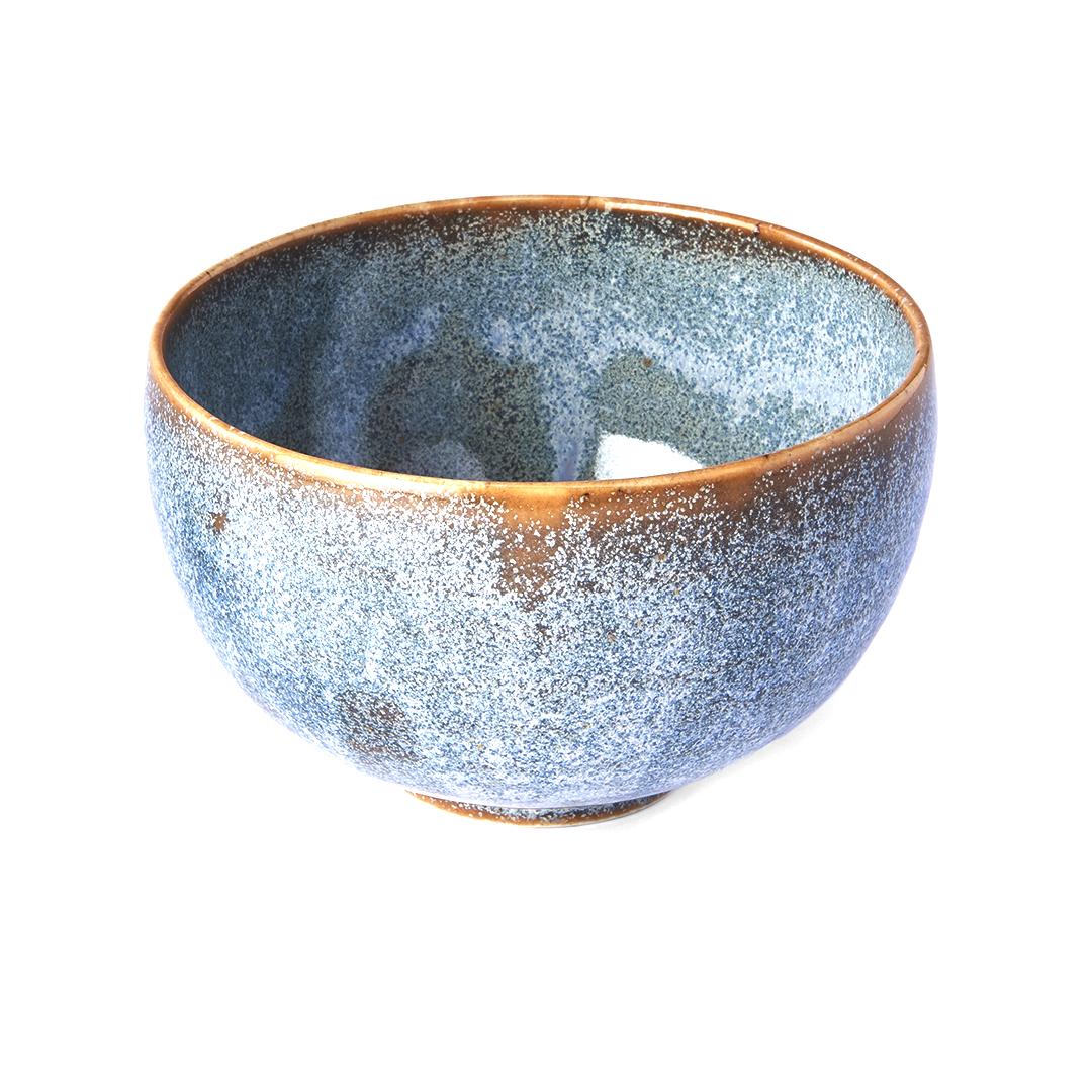 Levně Made in Japan Miska ve tvaru U Steel Grey 11 cm 300 ml