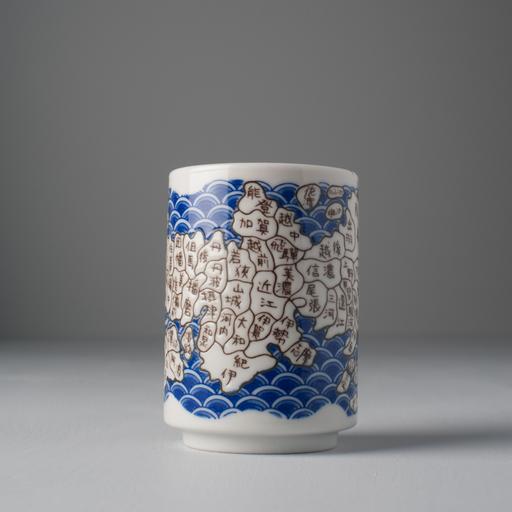Made in Japan Hrnek s motivem mapy Mug Sushi