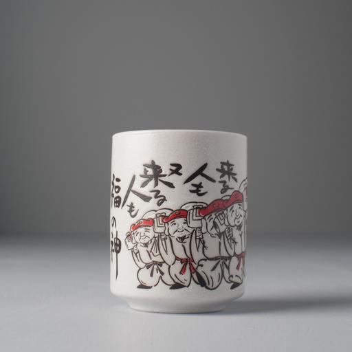 Made in Japan Hrnek s motivem japonských bojovníků Mug Sushi