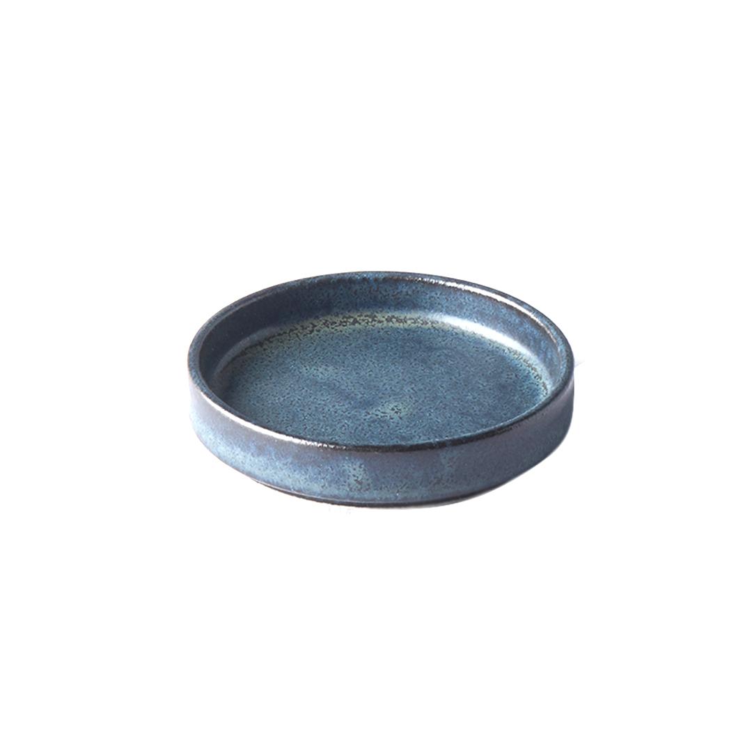 Made in Japan Malá Ramekin miska na omáčku černá 8 cm