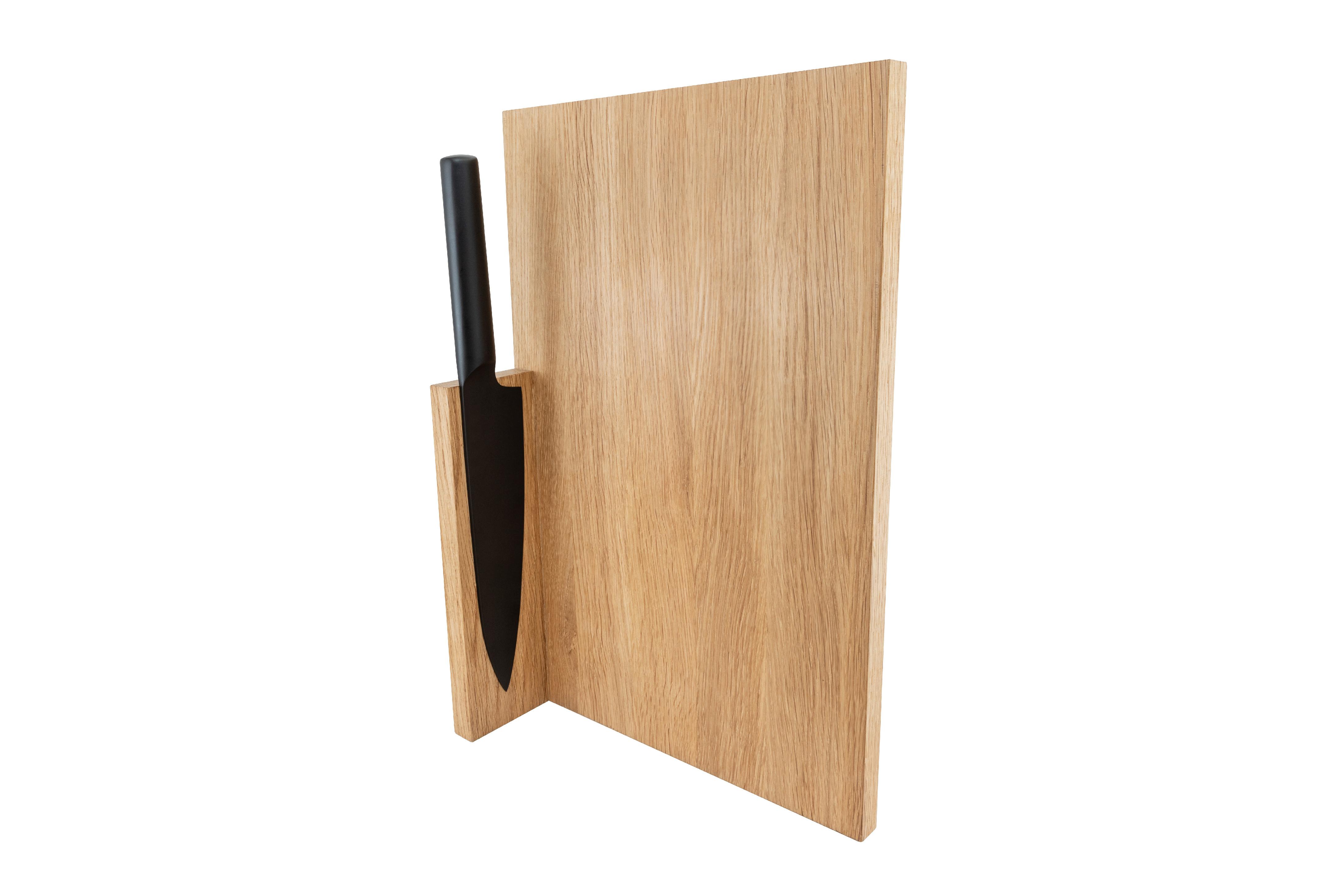 Kuchyňské prkénko Chef's Board Large s nožem CLAP DESIGN