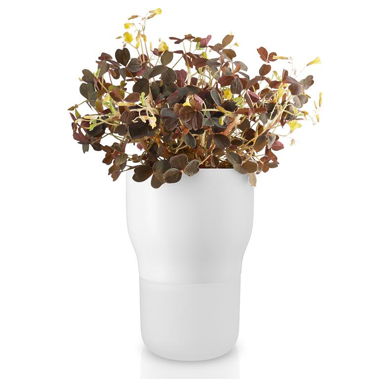 Samozavlažovací keramický květináč křídově bílý OE 9 cm, Eva Solo