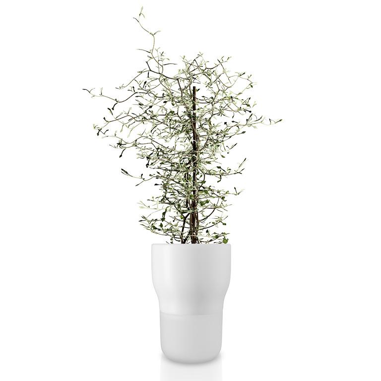 Samozavlažovací keramický květináč křídově bílý OE 13 cm, Eva Solo