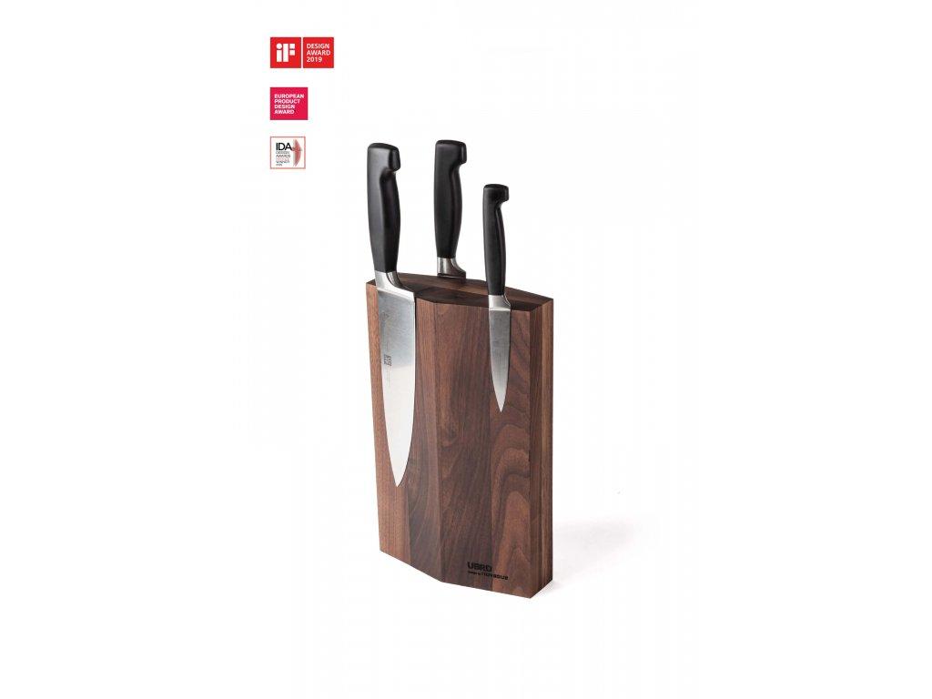 UBRD Stojan na nože dřevěný