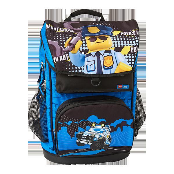 Levně LEGO CITY Police Cop Maxi - školní aktovka, 2 dílný set