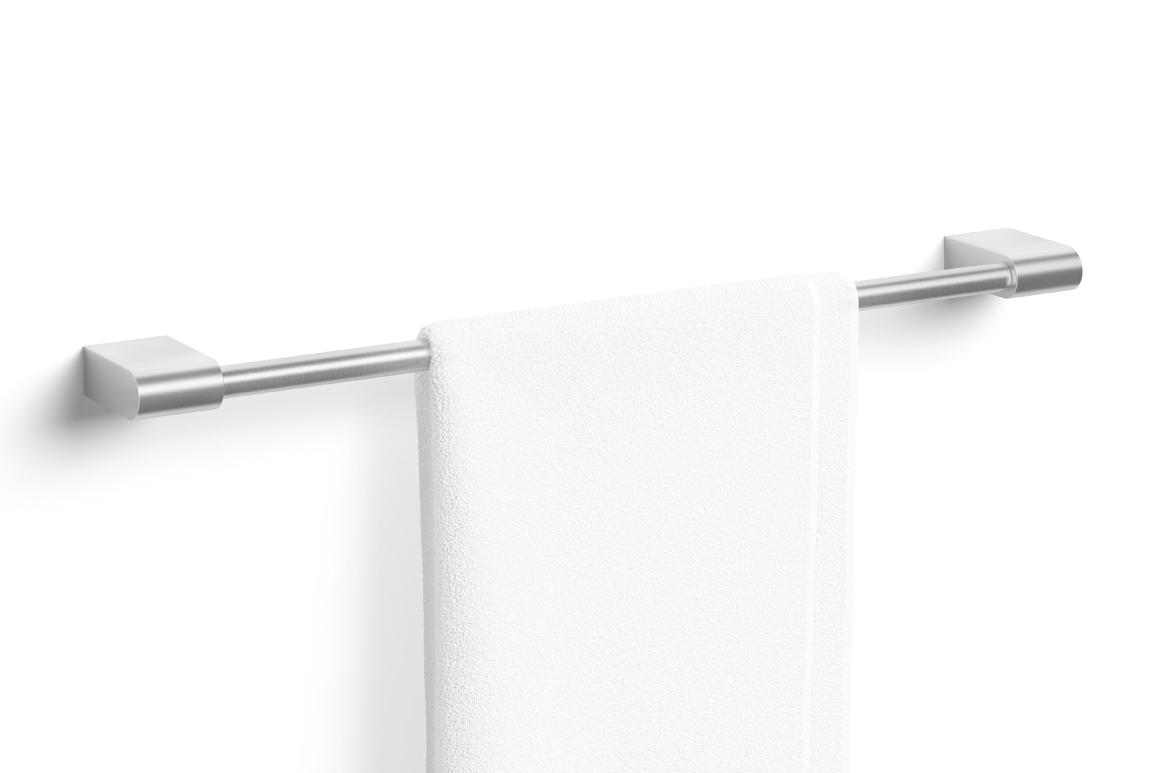 Nerezový sušák na ručníky 65 cm nerezový broušený ZACK