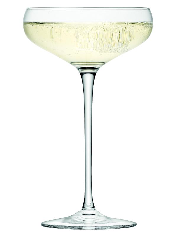 LSA INTERNATIONAL LSA Wine sklenice na sekt miska 300ml, Set 4ks