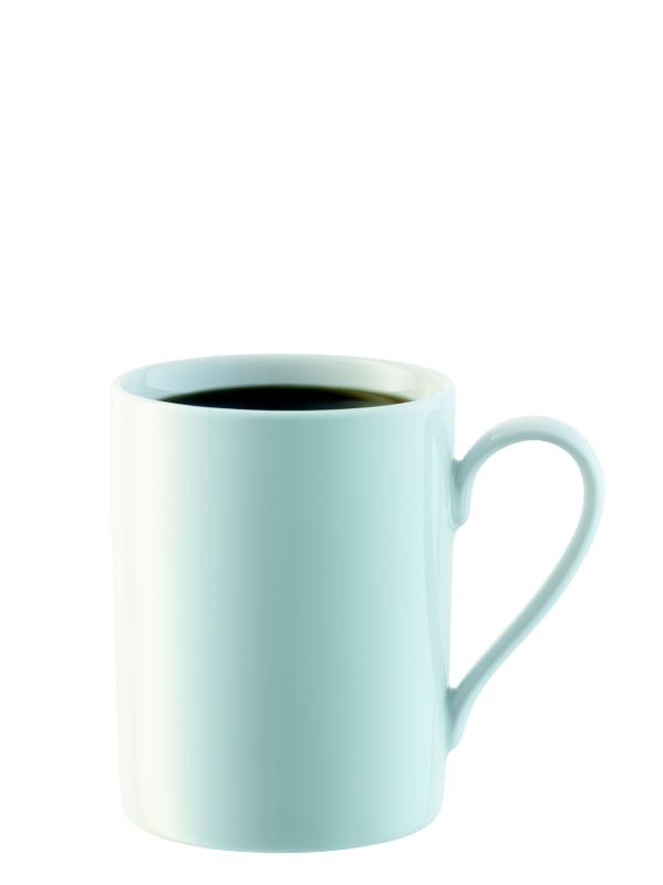 LSA INTERNATIONAL LSA Dine hrnek na čaj 0,3l, set 4ks bílý