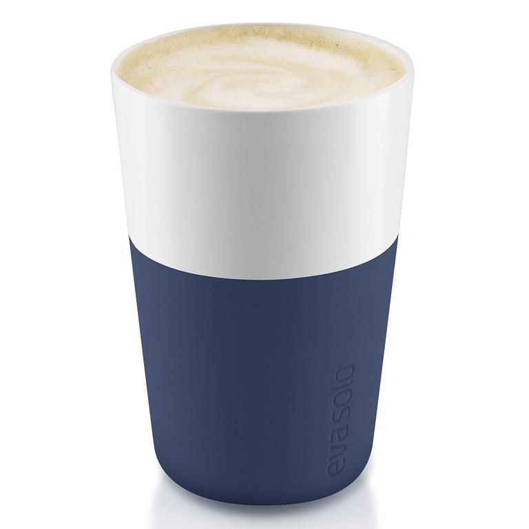 Termohrnky na café latte 360 ml 2 kusy námořnicky modré, Eva Solo