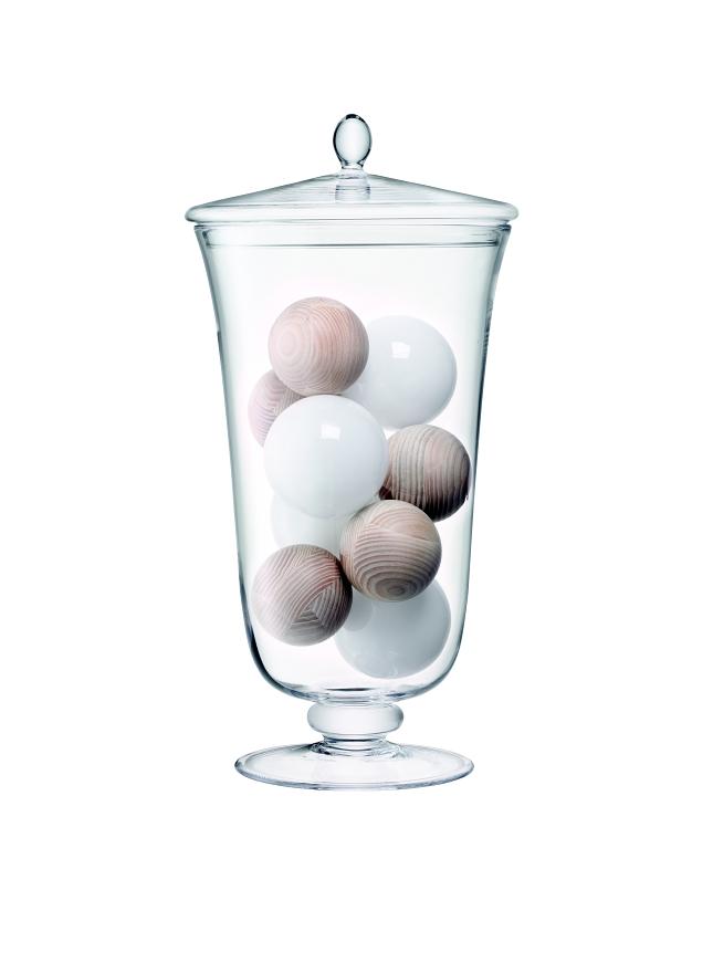 LSA INTERNATIONAL LSA Maxa & Globe obří pohár s pokličkou, výška 52 cm