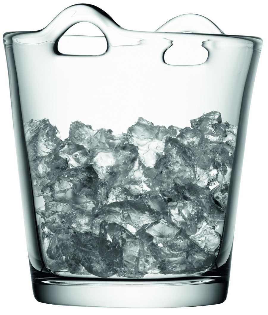 LSA INTERNATIONAL LSA chladicí kbelík BAR, výška 19 cm, čirý
