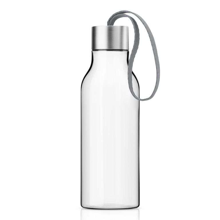 Lahev na pití 0,7 l se šedým řemínkem, Eva Solo