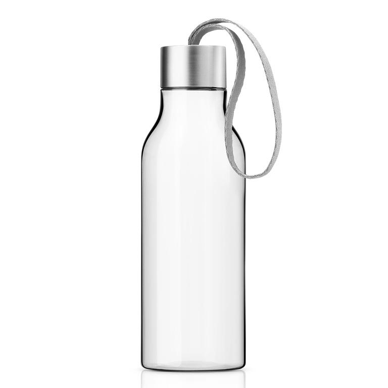 Lahev na pití 0,7 l s mramorově šedým řemínkem, Eva Solo