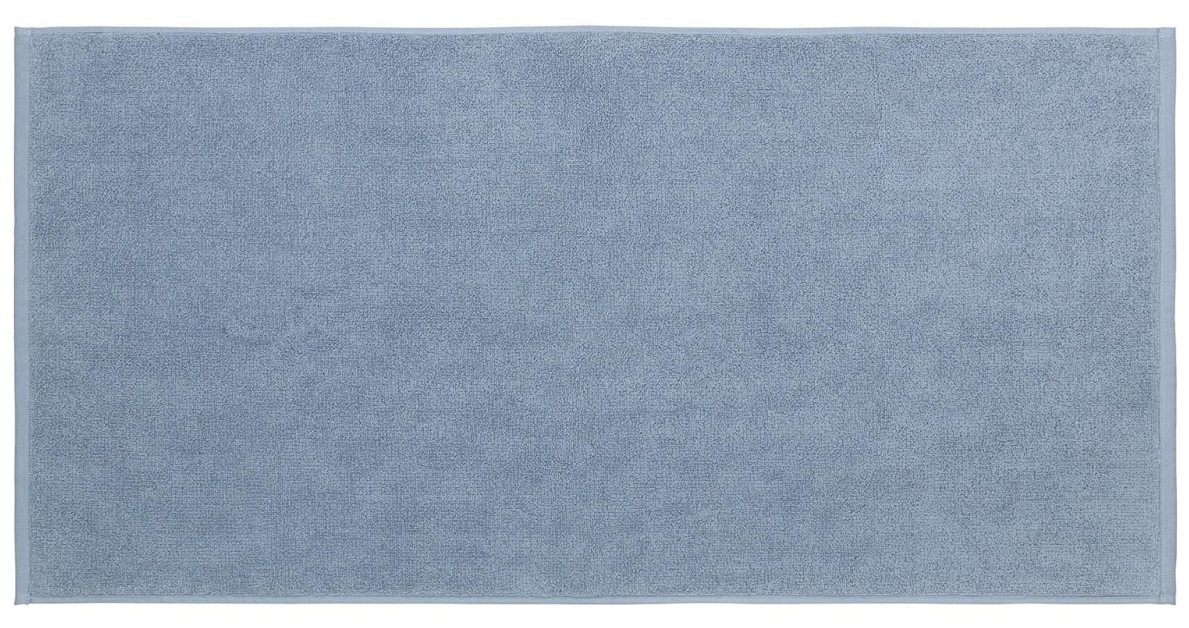 Levně koupelnová předložka pastelově modrá větší PIANA BLOMUS