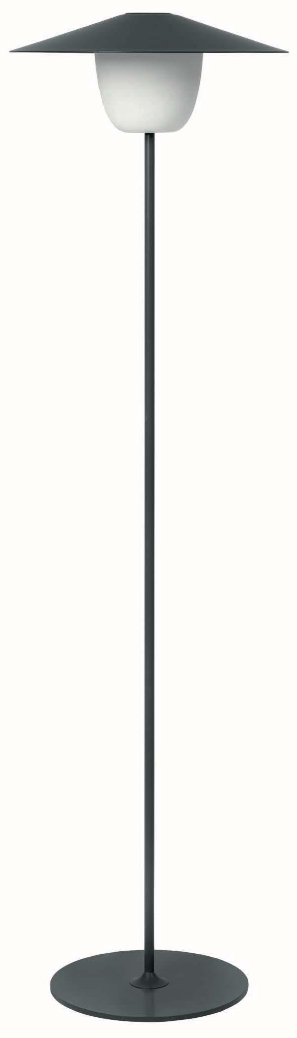 Levně Přenosná LED lampička vysoká černá BLOMUS