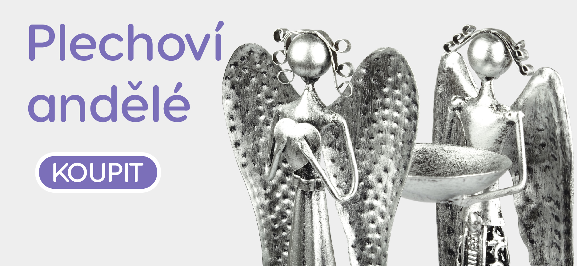 Plechoví andělé