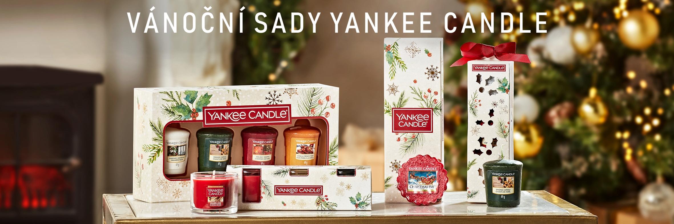 Vánoční sady Yankee Candle
