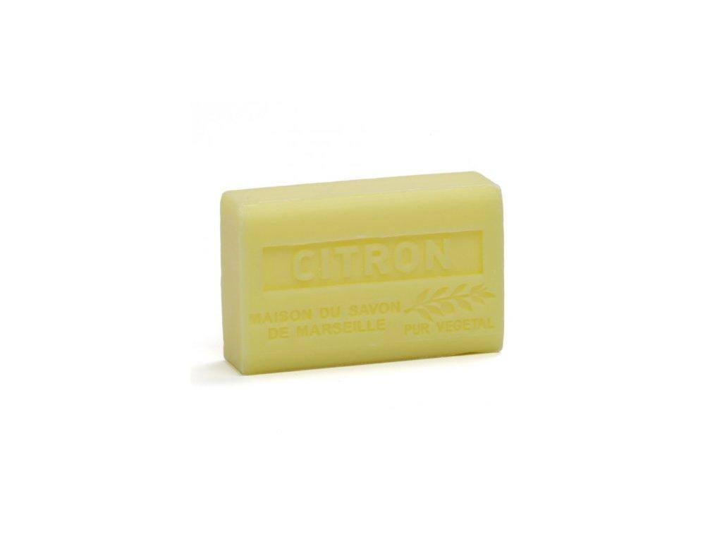 citron savon 125gr au beurre de karite bio citron