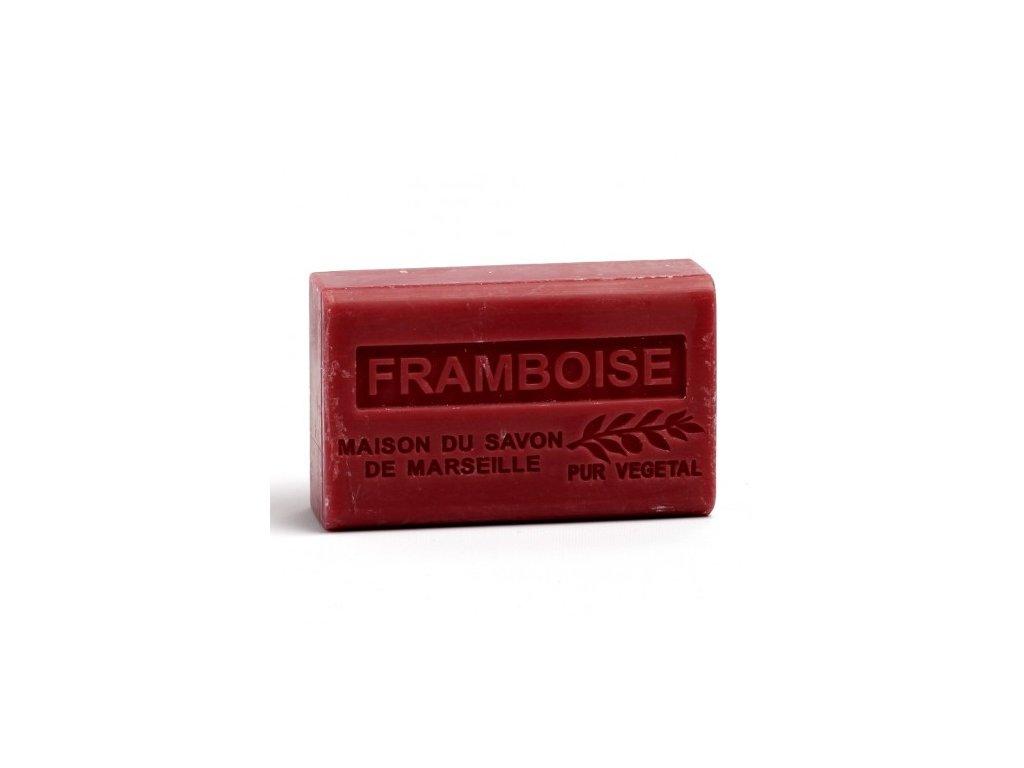 framboise savon 125gr au beurre de karite bio framboise