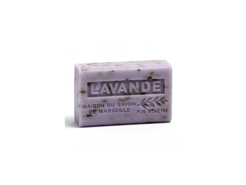 lavande broyee savon 125gr au beurre de karite bio lavande broyee