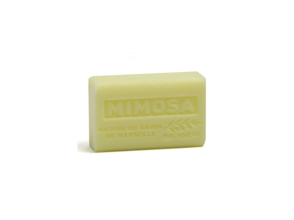 mimosa savon 125gr au beurre de karite bio mimosa