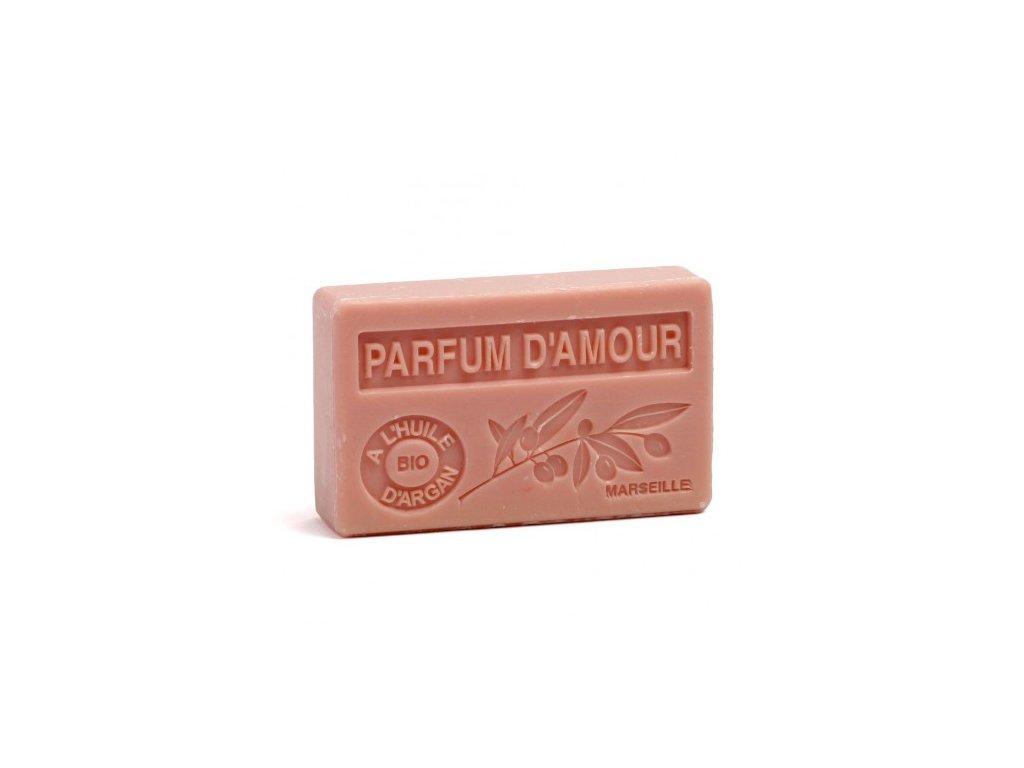 parfum damour savon 100gr huile d argan bio parfum d amour