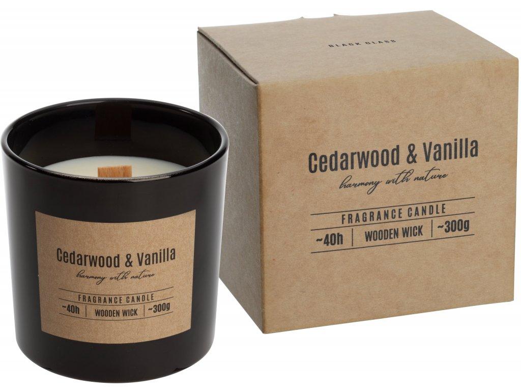 bispol cedarwood vanilla dřevo knot