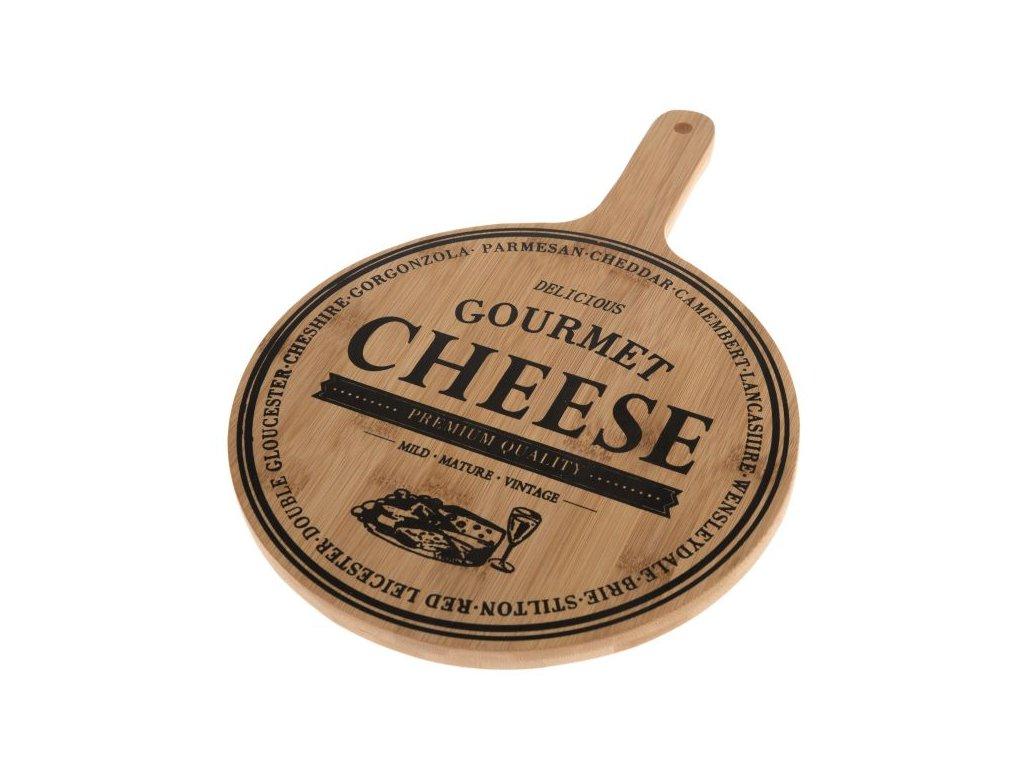 servírovací prkénko Cheese 35x24,5x1,5