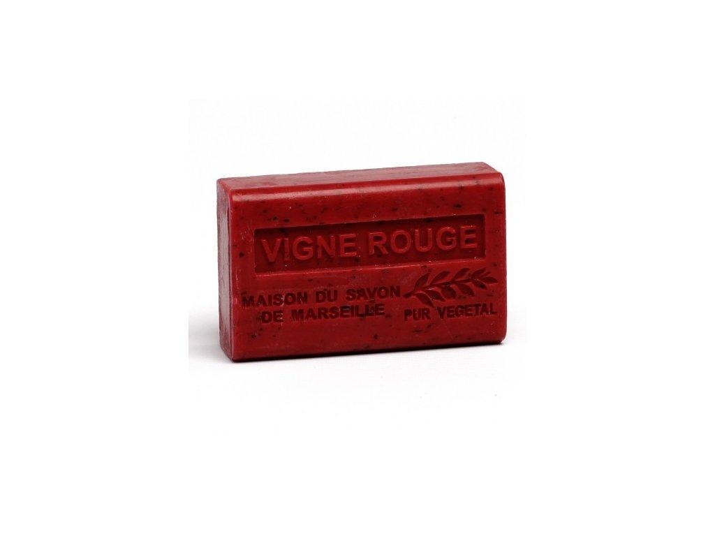 vigne rouge savon 125gr au beurre de karite bio vigne rouge