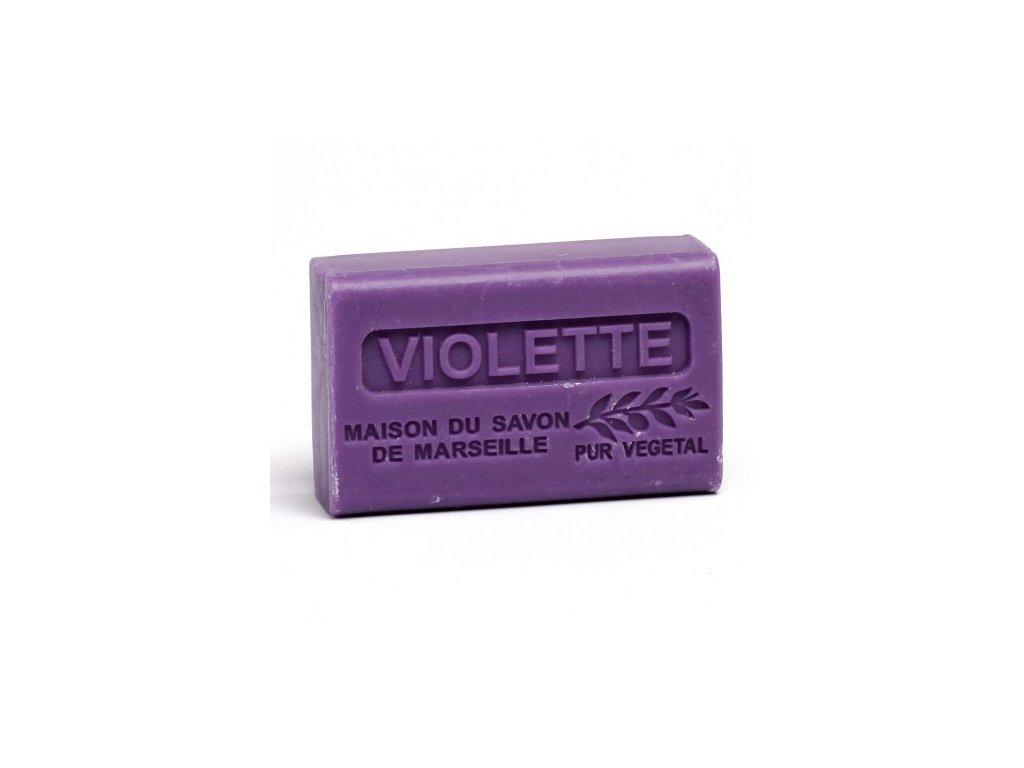 violette savon 125gr au beurre de karite bio violette
